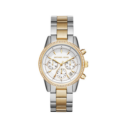 Michael Kors Ritz Two-Tone Watch MK6474