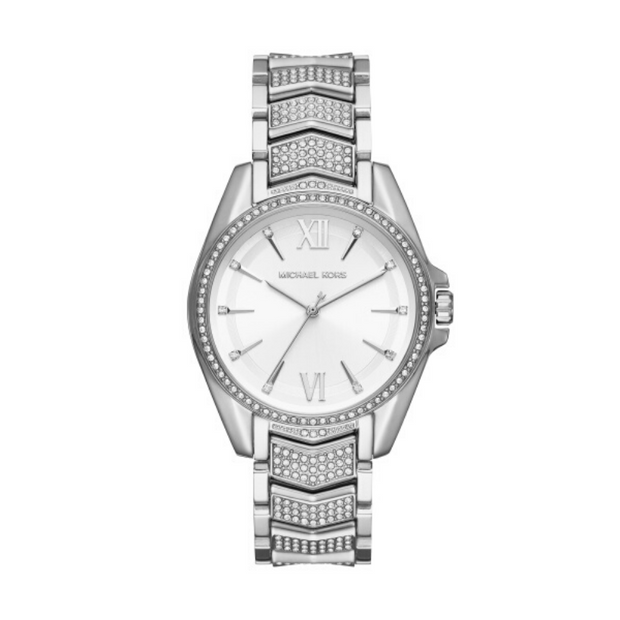 Michael Kors Whitney Steel Crystal Watch MK6687
