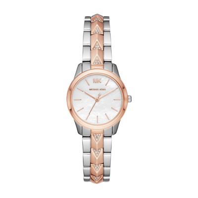 Michael Kors Petite Runway Mercer Two-Tone Watch MK6717