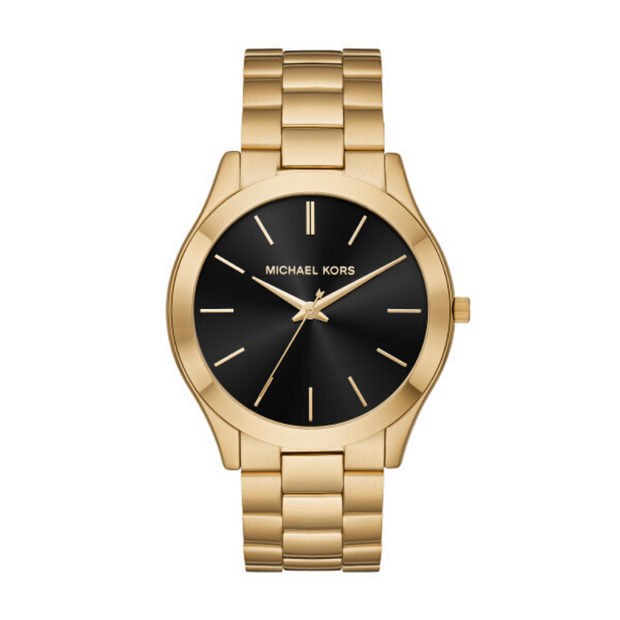 Michael Kors Runway Gold Mens Watch MK8621