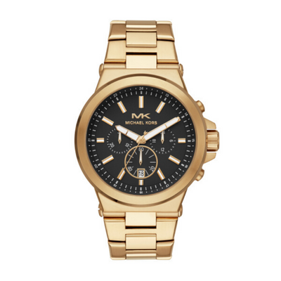 Michael Kors Dylan Gold Chronograph Mens Watch MK8731