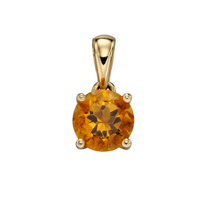 9ct Gold November Birthstone Pendant