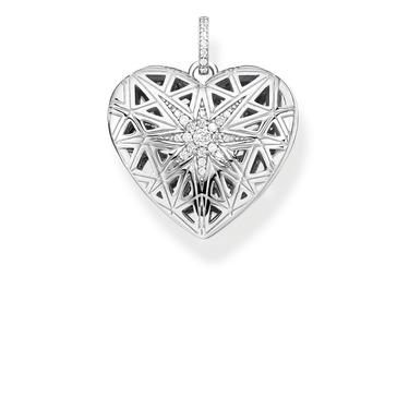 Thomas Sabo Heart Medallion star silver pendant PE860-416-14