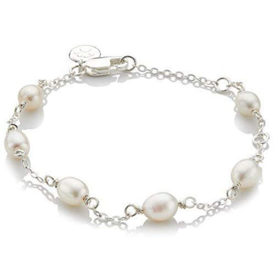 Molly Brown Pearl Station Bracelet MB16