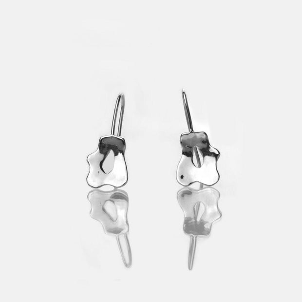 Martina Hamilton Reflections Silver Small Drop Earrings RFB1