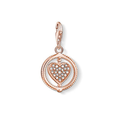 Thomas Sabo Charm Club Rose Gold Heart Charm