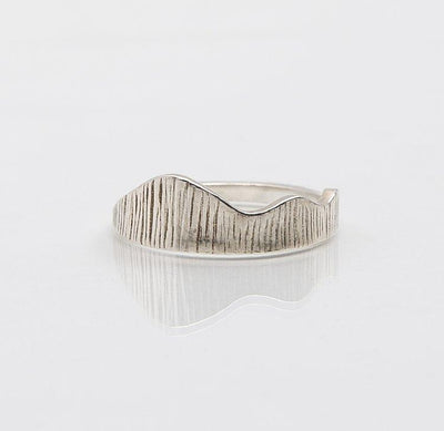 Martina Hamilton Seashore Silver Ring SB5