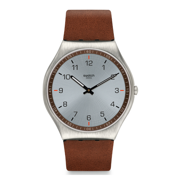Swatch Skin Suit Brown Watch SS07S108