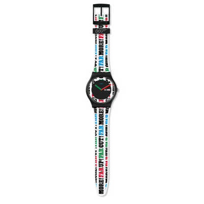 Swatch On Her Majesty's Secret Service 1969 Watch SUOZ715