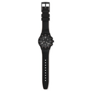 Swatch Black Cord Watch SUSB106