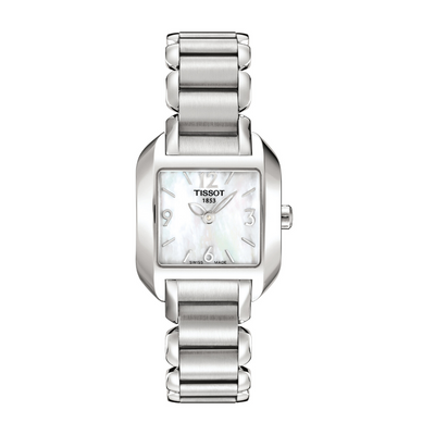 Tissot T-Wave Square Ladies Watch T02128582