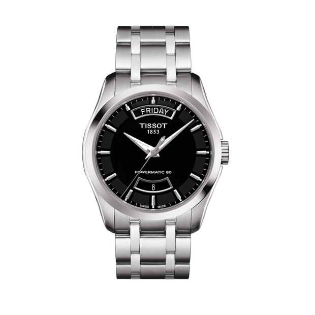 Tissot Couturier Powermatic 80 Mens Watch T0354071105101