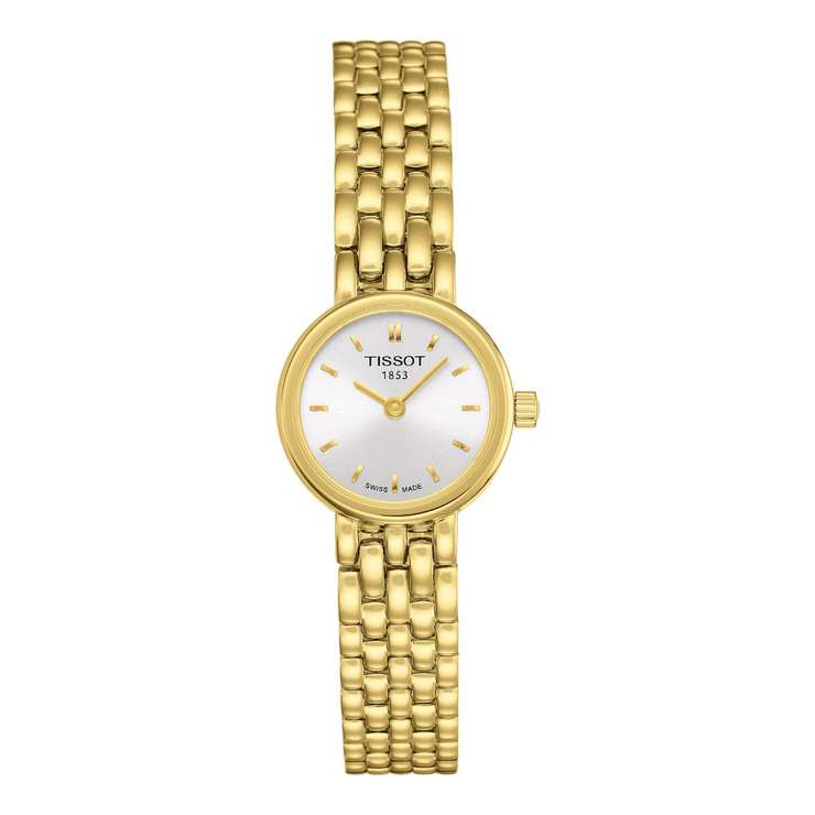 Tissot Lovely Gold Ladies Watch T0580093303100