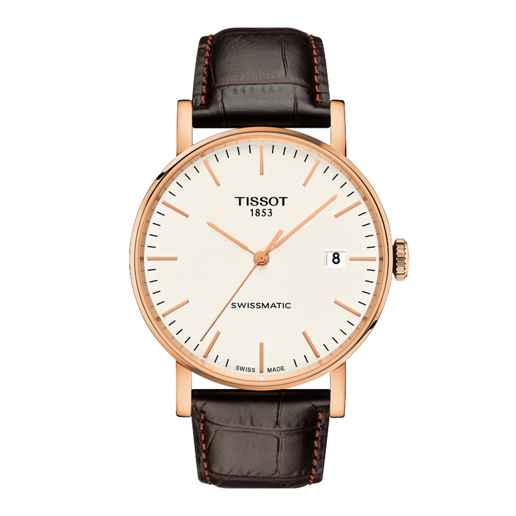 Tissot Everytime Brown Swissmatic Mens Watch T1094073603100