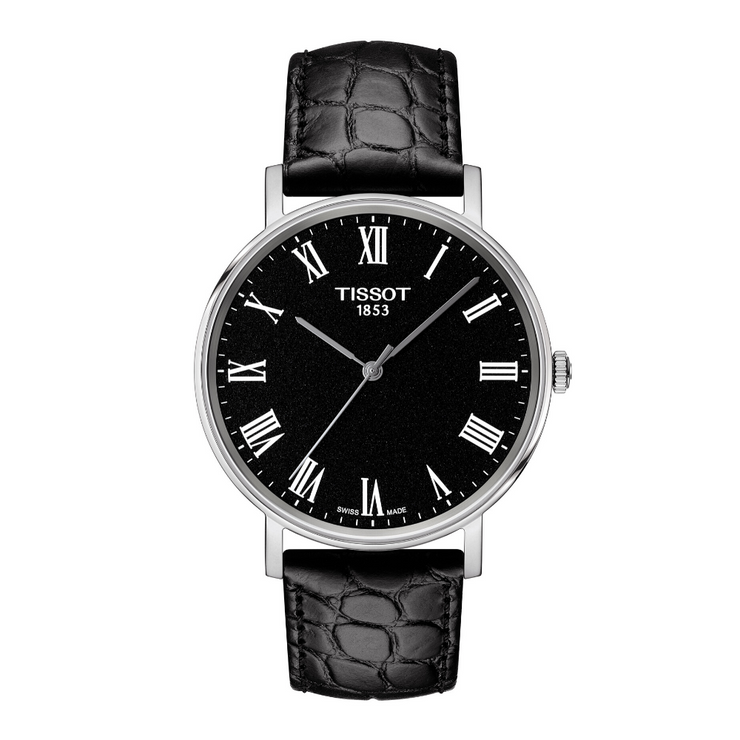 Tissot Everytime Mens All Black Watch T1094101605300