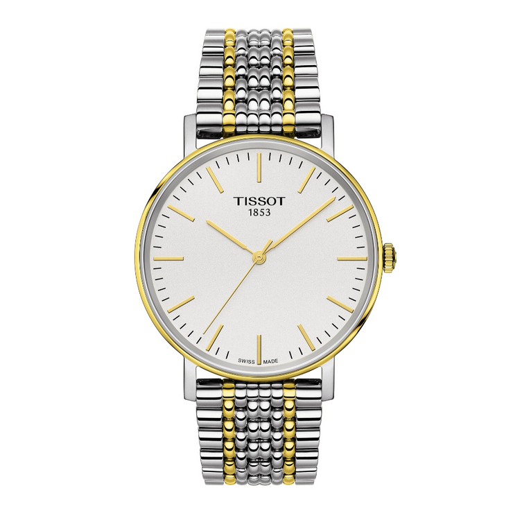 Tissot Everytime Two-Tone Mens Watch T1094102203100