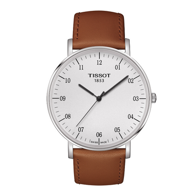 Tissot Everytime Brown Mens Large Watch T1096101603700