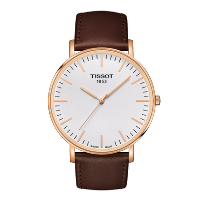 Tissot Everytime Rose Gold Mens Large Watch T1096103603100