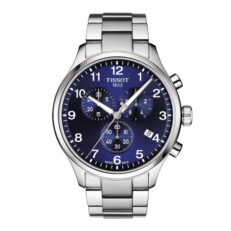 Tissot Chrono XL Classic Blue Mens Watch T1166171104701