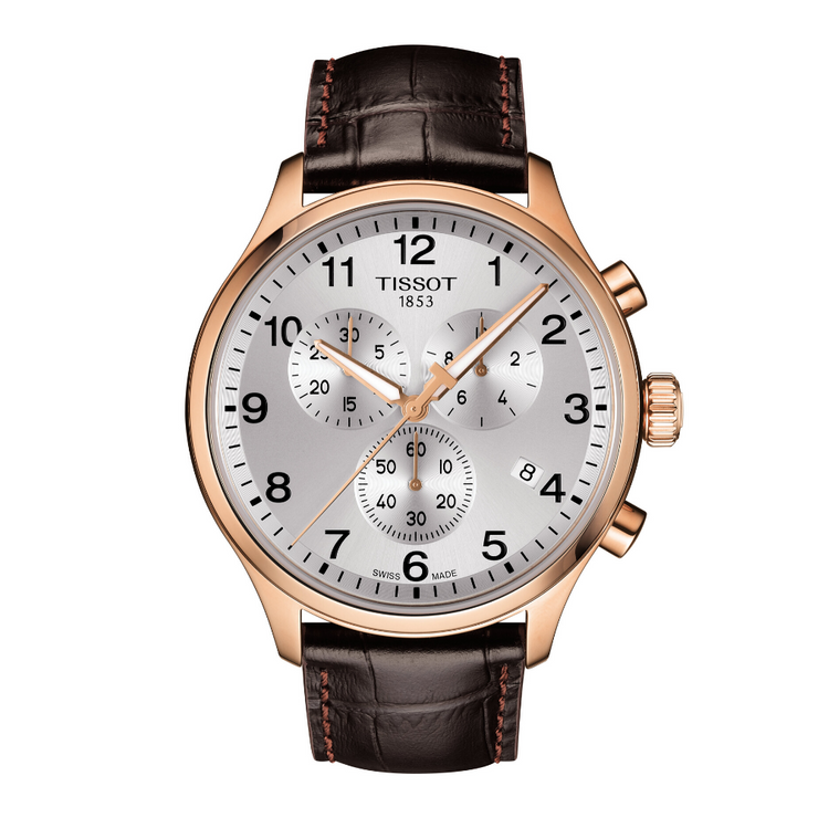 Tissot Chrono XL Classic Brown Mens Watch T1166173603700