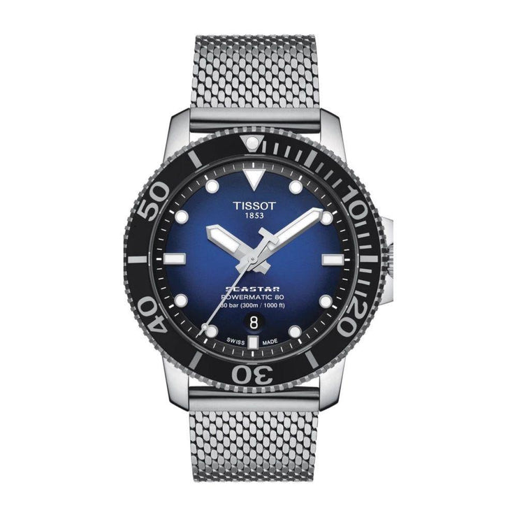 Tissot Seastar 1000 Powermatic 80 Steel Watch T1204071104102