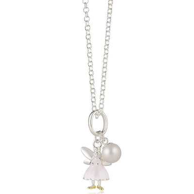 Molly Brown Snowdrop The White Fairy Wish Necklace MB49N-5