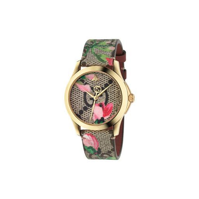 Gucci G-Timeless Pink Blossoms Watch YA1264038