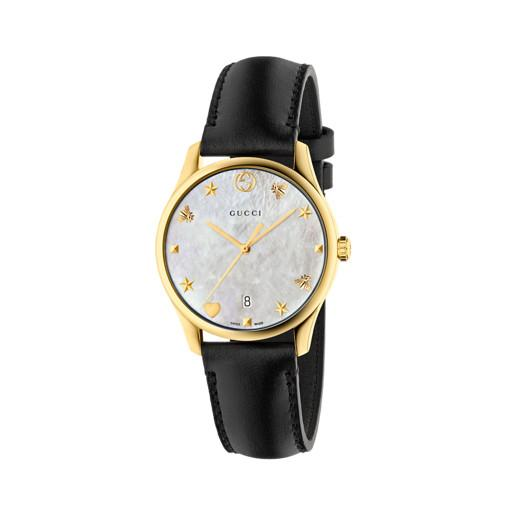 Gucci G-Timeless Black Strap Watch YA1264044