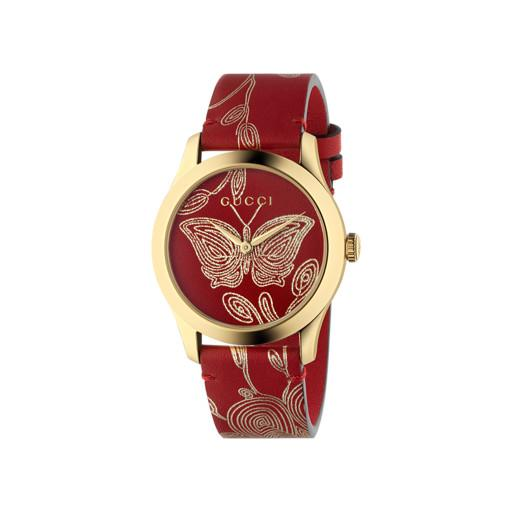 Gucci G-Timeless Butterfly Red Watch YA1264054