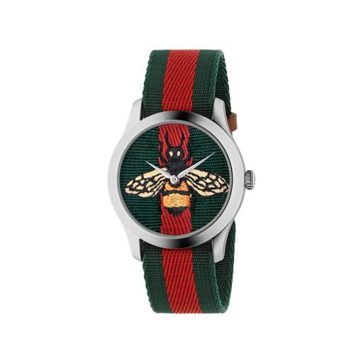 Gucci G-Timeless Bee Motif Watch YA1264060