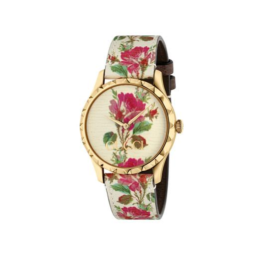 Gucci G-Timeless Floral Ladies Watch YA1264084