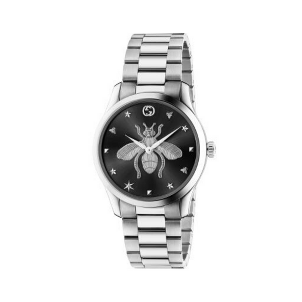 Gucci G-Timeless Steel Bee Watch YA1264136