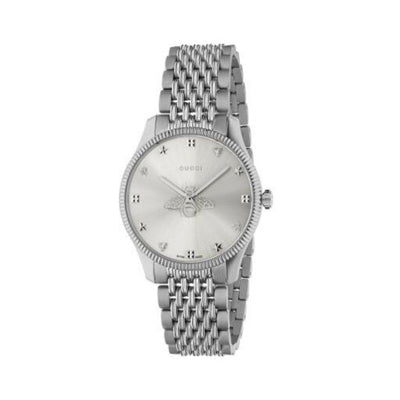 Gucci G-Timeless Steel Bee Motif Watch YA1264153