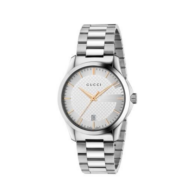 Gucci G-Timeless Two-Tone Unisex Watch YA126442