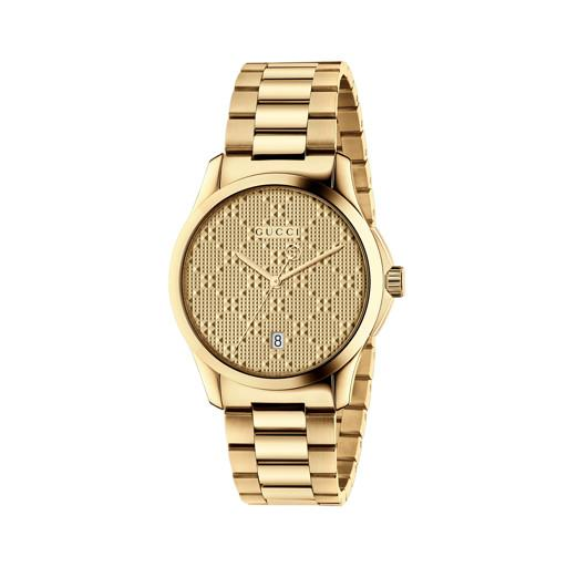 Gucci G-Timeless Gold 38mm Ladies Watch YA126461
