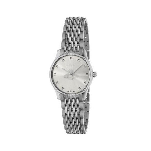 Gucci G-Timeless Steel Bee Motif Watch YA1265019