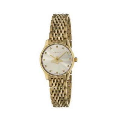 Gucci G-Timeless Gold Bee Motif Ladies Watch YA1265021