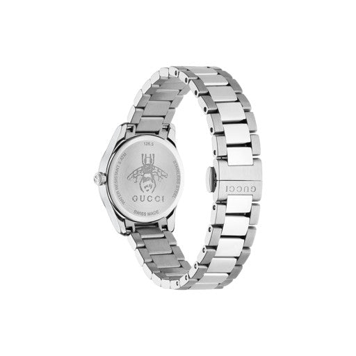 Gucci G-Timeless Stainless Steel 29mm Ladies Watch YA126572A
