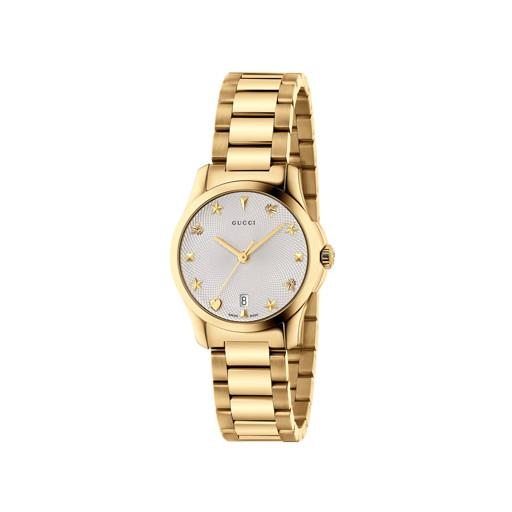 Gucci G-Timeless Gold 29mm Ladies Watch YA126576