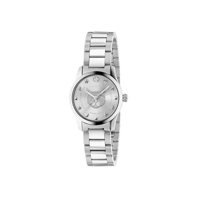 Gucci G-Timeless Feline Head Motif Ladies Watch YA126595