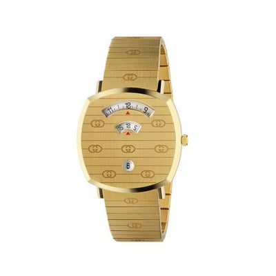 Gucci Grip Gold PVD 38mm Watch YA157409
