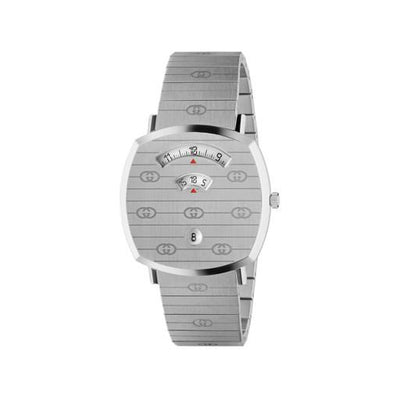 Gucci Grip Stainless Steel 38mm Watch YA157410