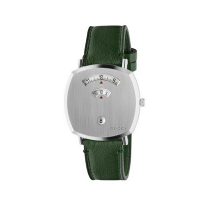 Gucci Grip Green Strap Watch YA157412