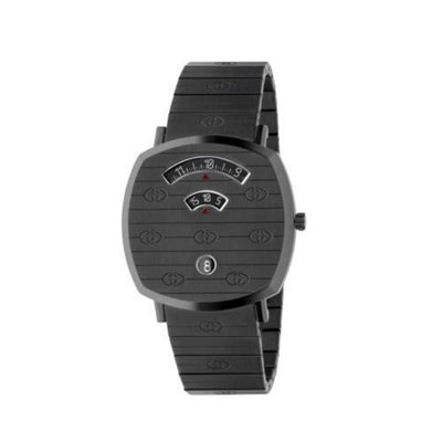 Gucci Grip Grey PVD 38mm Watch YA157429
