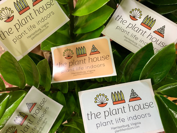 The Plant House Sticker
