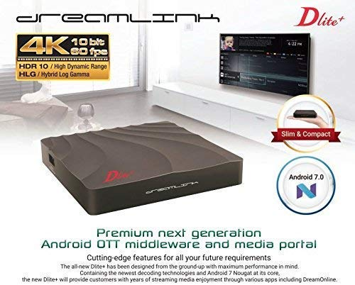 DREAMLINK DLITE+ 1GB RAM 4K IPTV & ANDROID 7.0 - Dreamlink Formuler Store - Products Online Shopping in USA & Canada