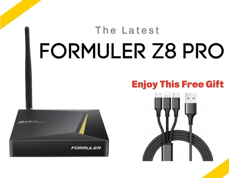 Advanced Formuler Z8 Pro 2021 box with IR Learning remote - Dreamlink Formuler Store - Products Online Shopping in USA & Canada