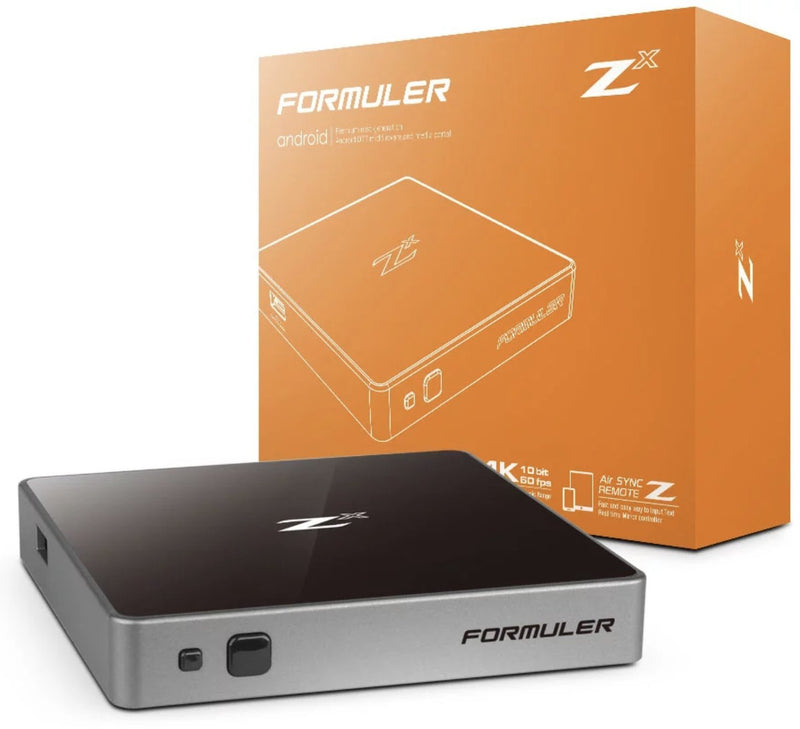 FORMULER ZX [SINGLE BAND WIFI] 1GB RAM 4K IPTV & ANDROID 7.0 - Dreamlink Formuler Store - Products Online Shopping in USA & Canada