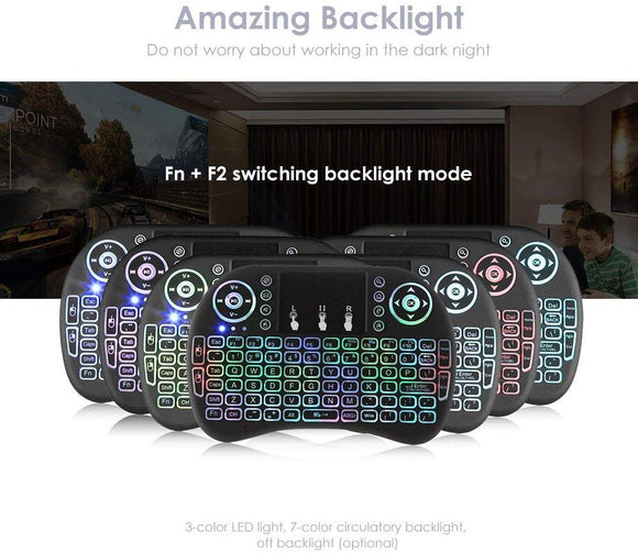 Mini Wireless Keyboard with Touchpad Mouse - Dreamlink Formuler Store - Products Online Shopping in USA & Canada