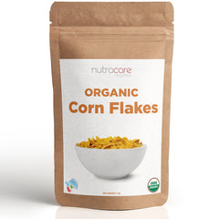 NutraCare Organics Corn Flakes Pouch, 1 Kg